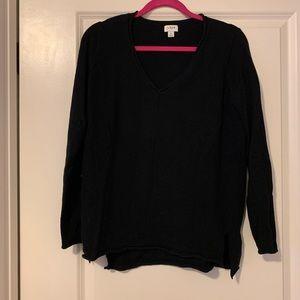 J Crew V-neck pullover sweater size small